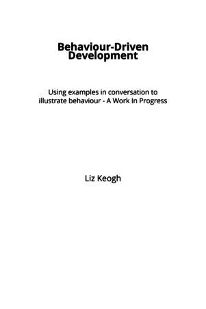 Behaviour-Driven Development