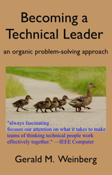 Becoming a Technical Leader cover page
