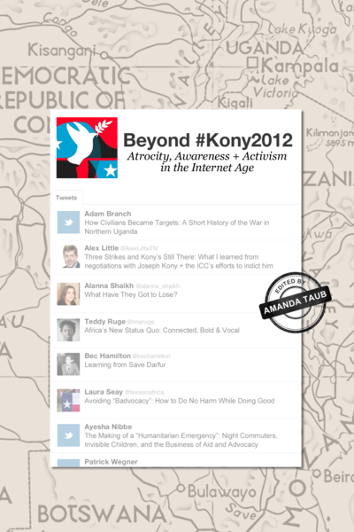 Beyond Kony2012 cover page