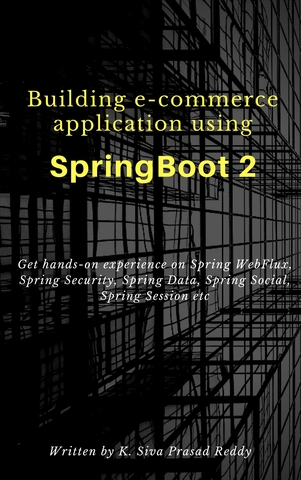 Building e-commerce application using Spring Boot 2