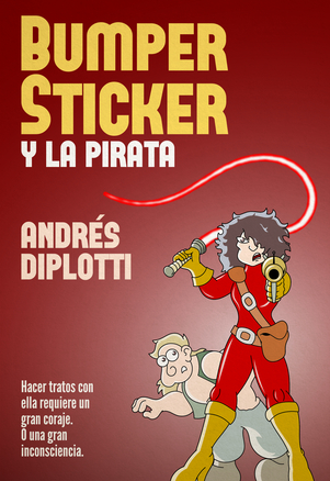Bumper Sticker y la pirata
