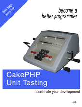CakePHP Unit Testing cover page