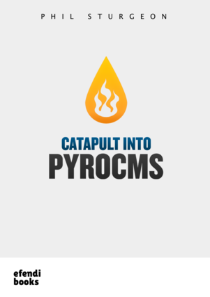 Catapult into PyroCMS Cover