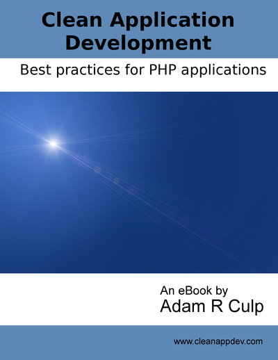 Clean Application Development cover page