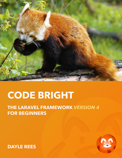 Laravel: Code Bright cover page
