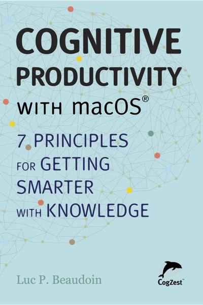 New E-Book Cognitive Productivity with macOS Image