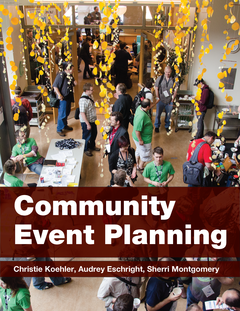 Community Event Planning cover page