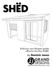 SHËD: Build your own designer garden office for less than £2500