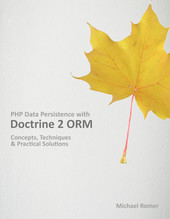 PHP Data Persistence with Doctrine 2 ORM cover page