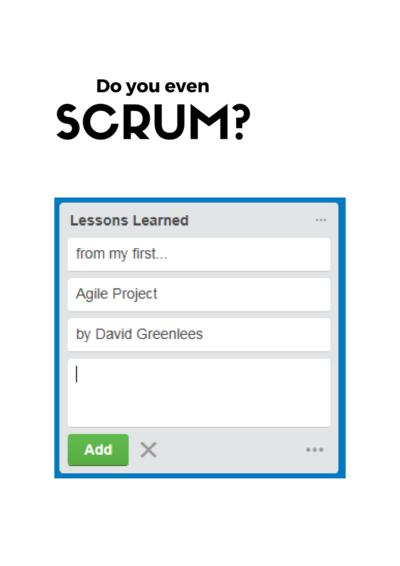 Do you even Scrum?