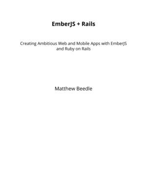 EmberJS + Rails