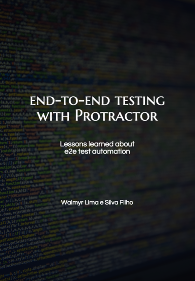 End to end testing with Protractor