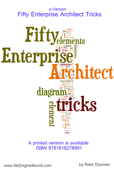 Fifty Enterprise Architect Tricks cover page