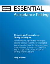 Essential Acceptance Testing