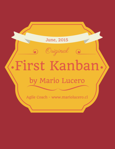 First Kanban