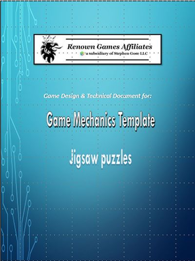 Game Template Mechanics For By Stephen Gose PDFiPadKindle - Game design document template pdf