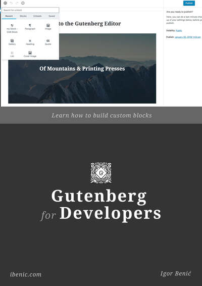 Gutenberg for Developers