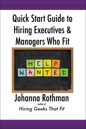 Quick Start Guide to Hiring Executives and Managers
