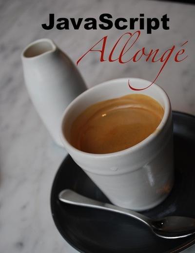 JavaScript Allongé cover page