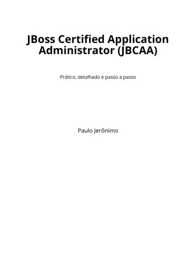 JBoss Certified Application Administrator (JBCAA)