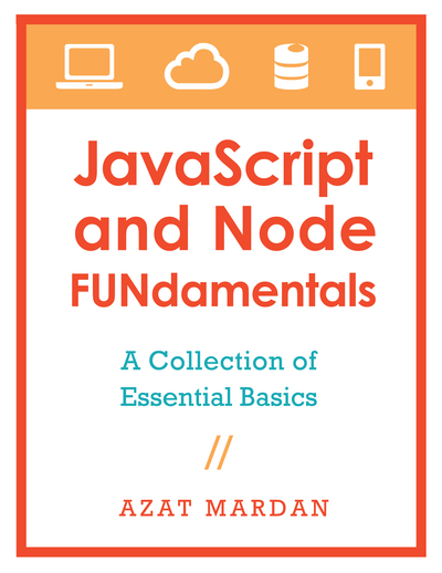 JavaScript and Node FUNdamentals cover page