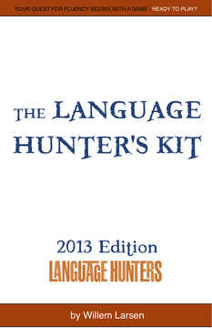 The Language Hunter's Kit, 2013 edition cover page