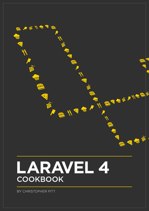 Laravel 4 Cookbook cover page