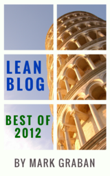 Best of Lean Blog 2012 cover page