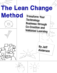 The Lean Change Method cover page