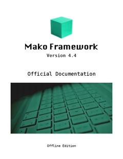 Mako Framework 4.4