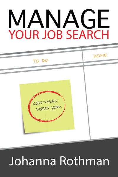 Manage Your Job Search cover page