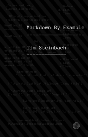 Markdown By Example cover page