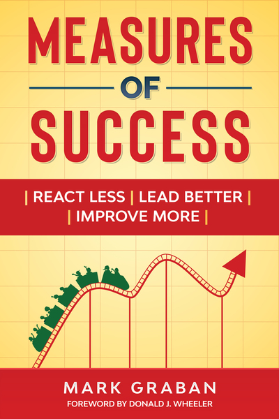 Measures of Success: React Less, Lead Better, Improve More by Mark Graban