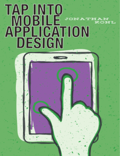 Tap Into Mobile Application Design cover page