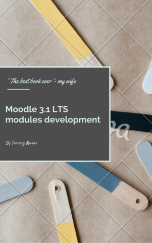 Moodle 3.1 LTS modules development