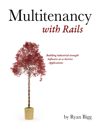 Multitenancy with Rails cover page