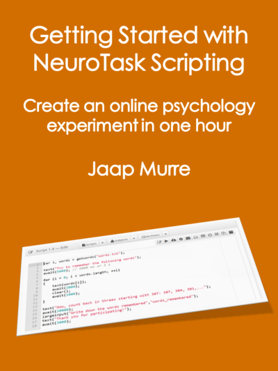 Getting Started with NeuroTask Scripting