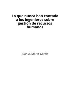 Lo que nunca han contado a los ingenieros sobre gestión de recursos humanos