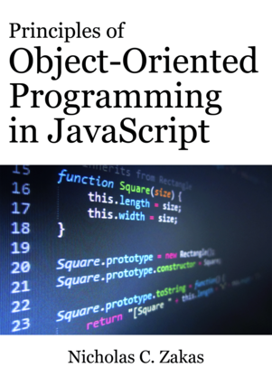 Principles of Object-Oriented Programming in JavaScript cover page