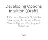 Developing Options Intuition (Draft)