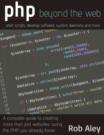 PHP Beyond the web cover page