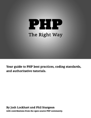"PHP: The ""Right"" Way Cover"