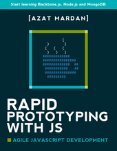 Rapid Prototyping with JS cover page