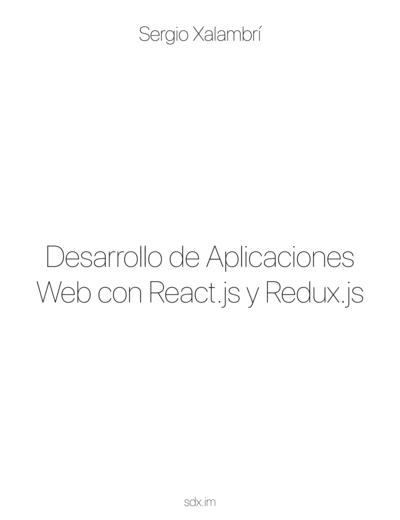 Desarrollo de Aplicaciones Web con React.js y Redux.js