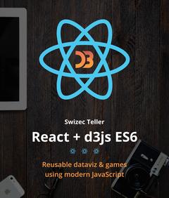 React+d3.js