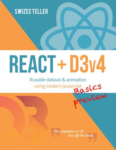 React + D3v4 sample basics