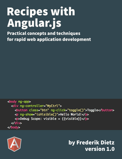 Recipes with Angular.js cover page