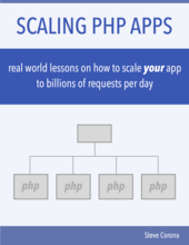 Scaling PHP cover page