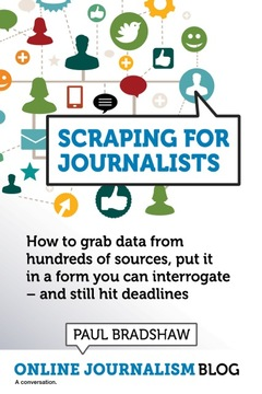 Scraping for Journalists cover page