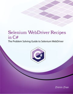 Selenium Recipes in C#